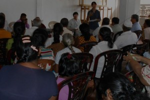 Sri Lanka: Explanatory meeting with residents