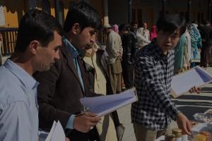 Pakistan: Interview at exhibition fair