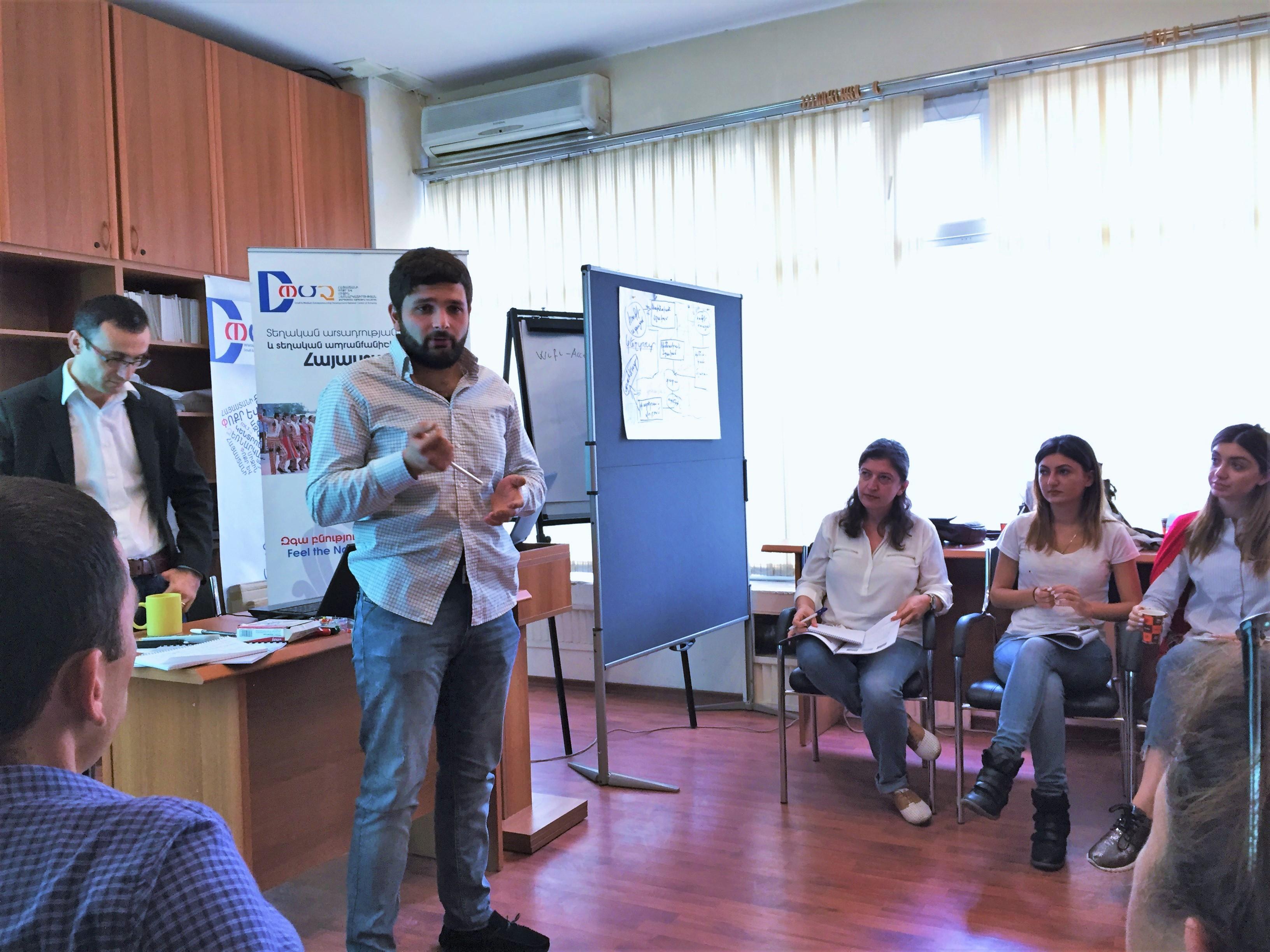 アルメニア品質向上研修