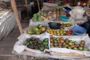 ケニアの市場